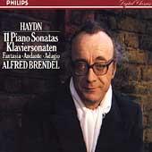 Haydn: 11 Piano Sonatas, Fantasia, Andante, Adagio (9/1979-7/1985) / Alfred Brendel(p)