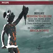 Berlioz: Benvenuto Cellini / Davis, Gedda. Eda-Pierre, et al