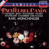 Pachelbel: Canon;  Albinoni, et al /Muenchinger, Stuttgart CO