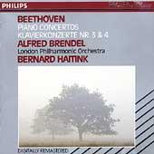 Beethoven: Piano Concertos nos 3 & 4 / Brendel, Haitink, London Philharmonic