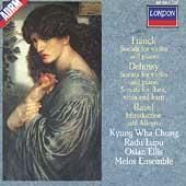 Franck, Debussy: Violin Sonatas;  Ravel / Chung, Lupu, et al