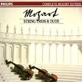 Complete Mozart Edition Vol 13 - String Trios & Duos