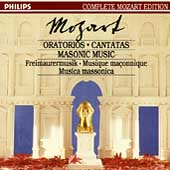 Complete Mozart Edition Vol 22 - Oratorios, Cantatas