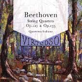 Beethoven: Quartets Opus 127 & 135 / Quartetto Italiano