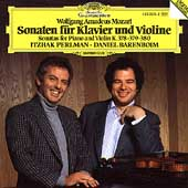 Mozart: Sonatas for Piano & Violin / Perlman, Barenboim