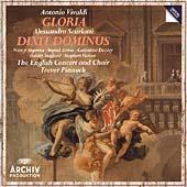Vivaldi: Gloria;  Scarlatti: Dixit Dominus / Pinnock