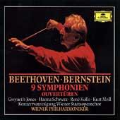 Beethoven: 9 Symphonies, Overtures / Bernstein, Vienna PO
