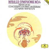Mahler: Symphony No.4 / Leonard Bernstein(cond), Royal Concertgebouw Orchestra, Helmut Wittek(Boy Soprano)