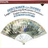 Handel: Opera Arias & Cantata Lucrezia / Dame Janet Baker