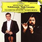 Mendelssohn: Violin Concerto, Bruch: Violin Concerto No.1 / Gil Shaham(vn), Giusepp Sinopoli(cond), Philharmonia Orchestra