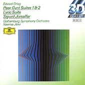 Grieg: Peer Gynt Op.23, Lyric Pieces Op.54, Sigurd Jorsalfar Op.22 (1986-87) / Neeme Jarvi(cond), Gothenburg SO, etc