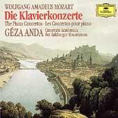 Mozart: The Piano Concertos / Anda, Salzburger Mozarteum