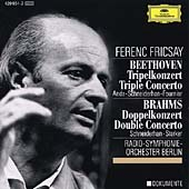 BEETHOVEN:TRIPLE CONCERTO/BRAHMS:DOUBLE CONCERTO:W.SCHNEIDERHAN(vn)/P.FOURNIER(vc)/F.FRICSAY(cond)/BERLIN RSO