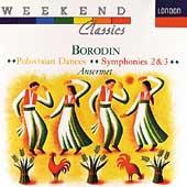 Borodin: Symphonies No.2, No.3, Polovtsian Dances, etc / Ernest Ansermet(cond), Suisse Romande Orchestra