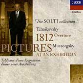 The Solti Collection - Tchaikovsky: 1812;  Mussorgsky, et al