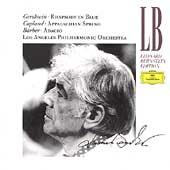 Bernstein Edition - Gershwin, Barber, Copland / Bernstein, Los Angeles PO
