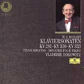 Mozart: Piano Sonatas KV 281, 330 & 333 / Vladimir Horowitz