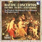 Haydn: Concertos for Oboe, Trumpet, Harpsichord / Trevor Pinnock(cond), English Concert, etc