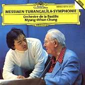 Messiaen: Turangalilaa-Symphonie / Myung-Whun Chung(cond), Orchestre de l'Opera Bastille, Yvonne Loriod(p), Jeanne Loriod(onde martenot)