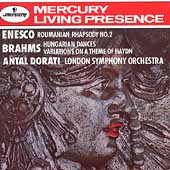 Enesco: Roumanian Rhapsody no 2;  Brahms / Dorati, London SO