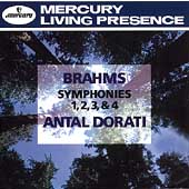 Brahms: Symphonies no 1-4 / Antal Dorati