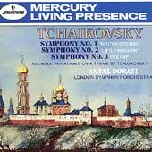 Tchaikovsky: Symphonies no 1-3, etc / Dorati, London SO