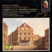 Beethoven: Symphony no 9, etc / Karajan, Berlin PO