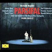 Wagner: Parsifal / Pierre Boulez(cond), Bayreuth Festival Orchestra, Gwyneth Jones(S), James King(T), etc