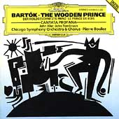 Bartok: The Wooden Prince, etc / Boulez, Chicago SO