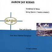 Kernis: Symphony in Waves, etc / Schwarz, Lark Quartet