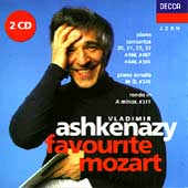 Favourite Mozart / Vladimir Ashkenazy