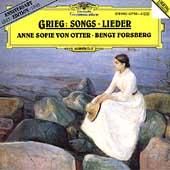 Grieg: Songs -Haugtussa Song Cycle Op.67, Sechs Lieder Op.48, etc / Anne Sofie von Otter(Ms), Bengt Forsberg(p)