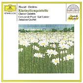 Mozart: Clarinet Quintet K.581; Brahms: Clarinet Quintet Op.115 / Amadeus Quartet, Karl Leister(cl)