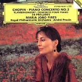 Chopin: Piano Concerto No.2, 24 Preludes (5/31/1994) / Maria Joao Pires(p), Andre Previn(cond), Royal Philharmonic Orchestra London
