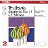 Tchaikovsky: Symphonies nos 4-6 / Markevitch, London SO