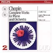 Chopin: Complete Works for Piano & Orchestra / Arrau, Inbal