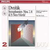 Dvorak: Symphonies nos 7, 8 & 9 / Davis, Royal Cencertgebouw