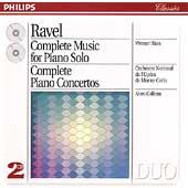 Ravel: Music for Piano Solo, Piano Concerti / Haas, Galliera