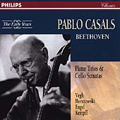 The Early Years  Beethoven: Chamber Music / Casals