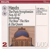 Haydn: The Paris Symphonies nos 82-87 / Sir Neville Marriner
