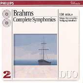 Brahms: Complete Symphonies / Sawallisch, Vienna Symphony