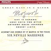 Mozart: Great Mass in C Minor / Marriner, Te Kanawa,  et al