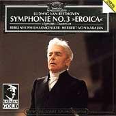 Beethoven: Symphony No.3, Egmont Overture / Herbert von Karajan(cond), Berlin Philharmonic Orchestra