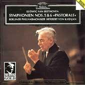 Beethoven: Symphony No.5, No.6 / Herbert von Karajan(cond), Berlin Philharmonic Orchestra