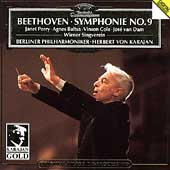 Beethoven: Symphony No.9 (1983) / Herbert von Karajan(cond), Berlin Philharmonic Orchestra, Janet Perry(S), Agnes Baltsa(Ms), etc