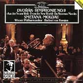 Dvorak: Symphonie No.9; Smetana: Die Moldau (1985) / Herbert von Karajan(cond), Vienna Philharmonic Orchestra