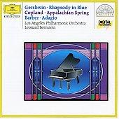 Gershwin: Rhapsody in Blue; Copland: Appalachian Spring; Samuel Barber: Adagio