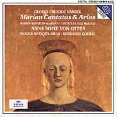 Handel: Marian Cantatas & Arias -Haec est Regina Virginum, Ah! Che Troppo Ineguali HWV.230, etc (1993) / Anne Sofie von Otter(Ms), Reinhard Goebel(cond), Musica Antiqua Koln