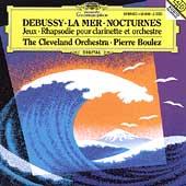 Debussy: La Mer, Nocturnes, Jeux, etc (1991-1993) / Pierre Boulez(cond), Cleveland Orchestra, etc