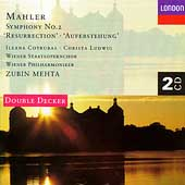 Mahler: Symphony no 2; Schmidt: Symphony no 4 / Mehta et al